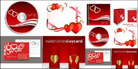 Elements of the romantic Valentine