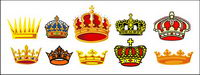 Vector material exquisite crown